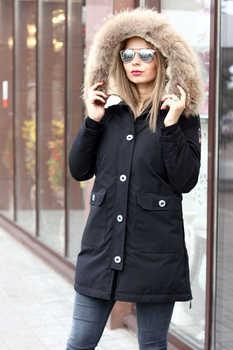 Укороченнная натуральная куртка