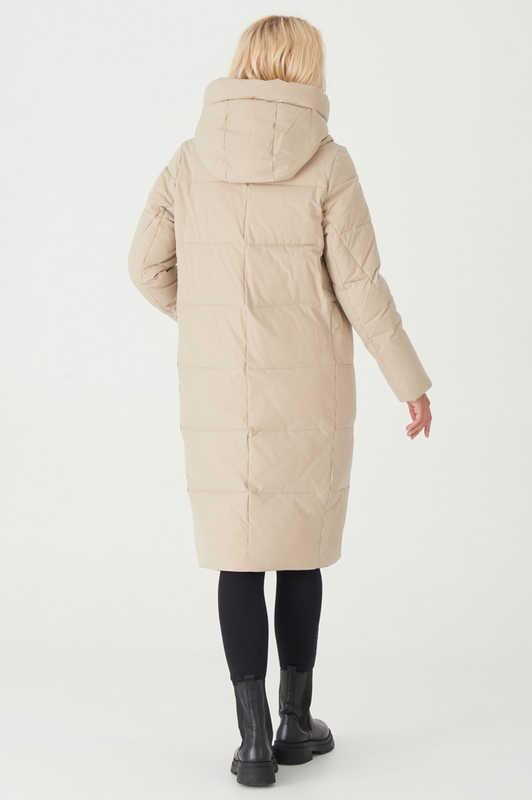 Модная зимняя куртка с мехом