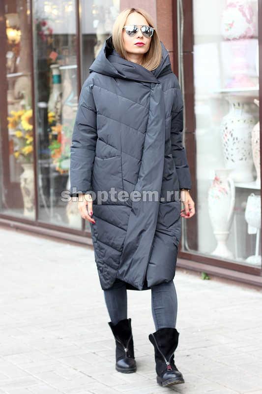 Зимняя куртка mork anhanma фасона оверсайз