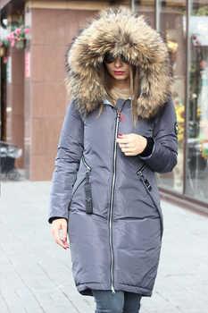 Приталенная теплая куртка vo-tarun серого цвета