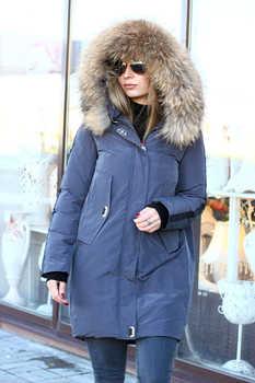Укороченная куртка зима 2019