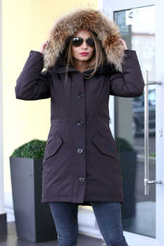 Короткая куртка Canada Goose с удлиненной спинкой