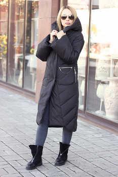 Удлиненная куртка одеяло с капюшоном