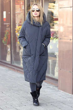 Теплая куртка одеяло женская