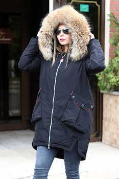 Черная укороченная куртка vo-tarun на био-пухе
